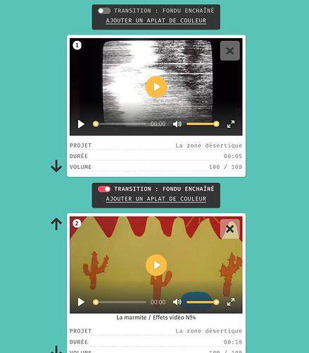 Ajouter des transitions en fondu entre chaque plan d'une vidéo